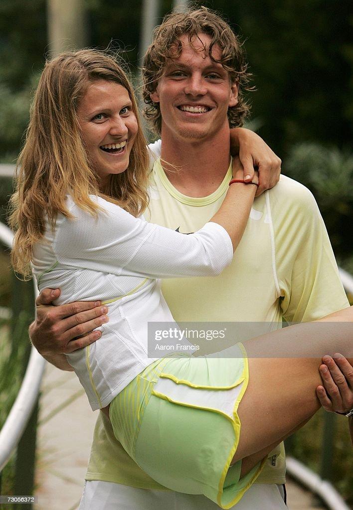Off Court At The Australian Open 2007 : News Photo