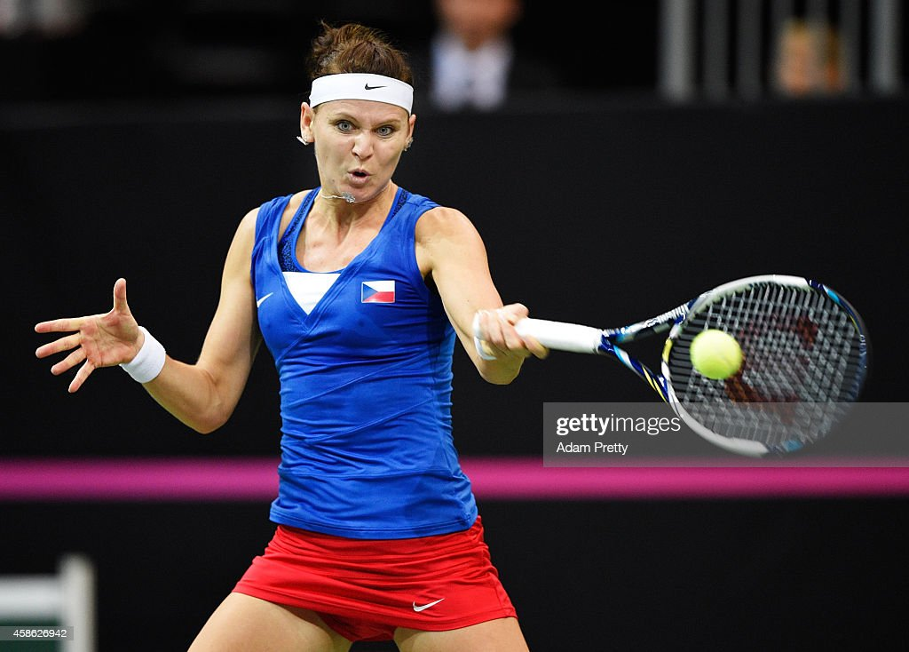 Czech Republic v Germany - Fed Cup Final Day 1 : News Photo