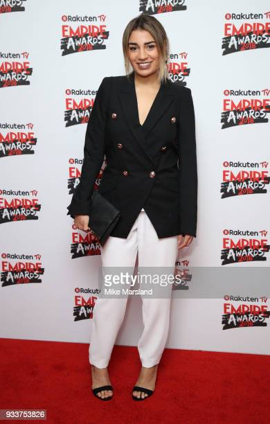 Lucie Shorthouse attends the Rakuten TV EMPIRE Awards 2018 at The Roundhouse on March 18 2018 in London England