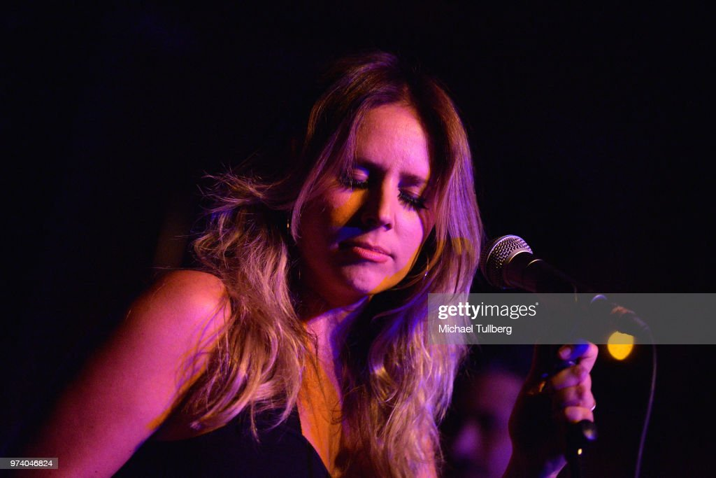 Lucie Silvas performs live at The Peppermint Club on June 13, 2018 in Los Angeles, California.