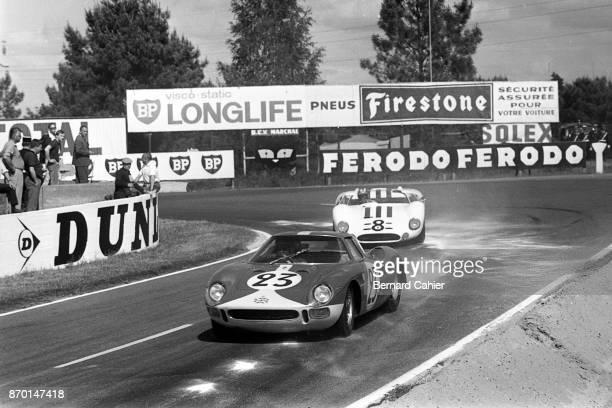 Lucien Bianchi Jo Siffert Ferrari 250LM Maserati Tipo 65 24 Hours of Le Mans Le Mans 20 June 1965