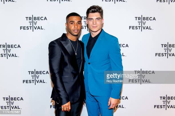 Lucien Laviscountand Zane Holtz attend the Katy Keene screening at the 2019 Tribeca TV Festival at Regal Battery Park Cinemas on September 14 2019 in...