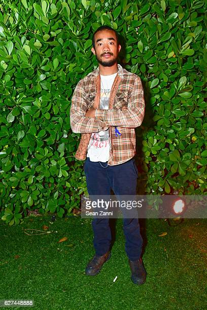 Lucien Smith attends AWGE Private Dinner in Celebration of Art Basel Miami at The Surf Lodge Bungalow on December 2 2016 in Miami Beach FL