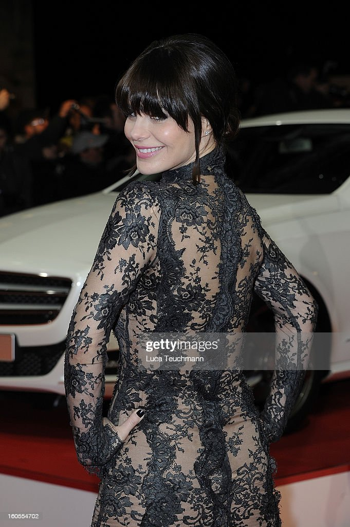 Lucila Sola attends the 48th Golden Camera Awards at the Axel Springer Haus on February 2, 2013 in Berlin, Germany.