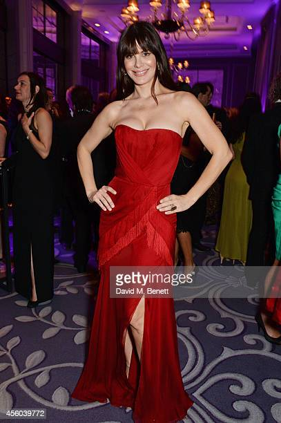 Lucila Sola attends the Al Pacino BFI Fellowship Dinner supported by Moet Chandon at the Corinthia Hotel London on September 24 2014 in London England
