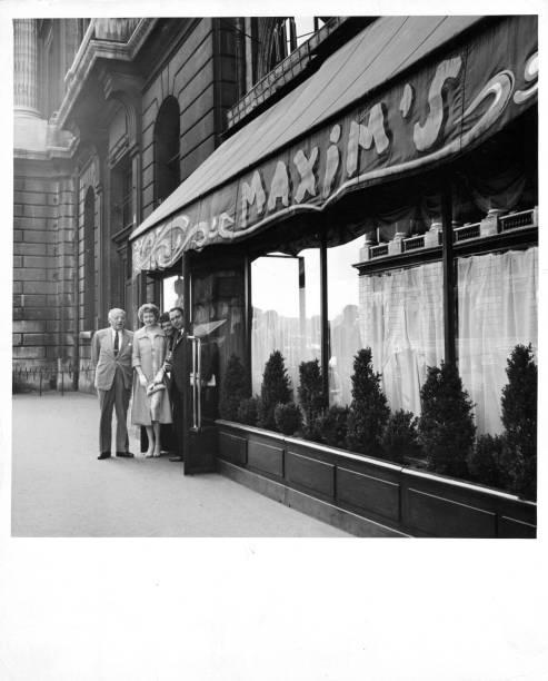 Maxim's Restaurant In Paris, France