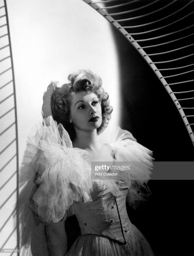Lucille Ball, American film and television actress, late 1930s - early 1940s.Artist: Laszlo Willinger : News Photo