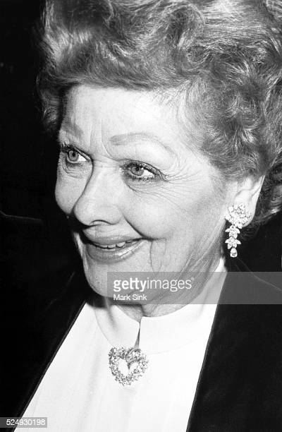 Lucille Ball Carousel Ball Denver Co 1983 Nikon F3 Trix F/16 Scanned from silver print 2006 Prints signed numbered and dated on verso