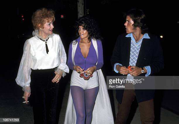 Lucille Ball Guest and Desi Arnaz Jr during Bridal Shower Luncheon for Lucie Arnaz at South Beverly Restaurant in Beverly Hills California United...