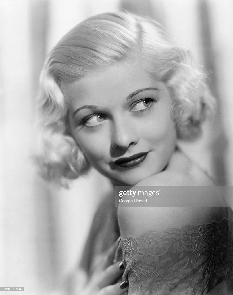 Portrait of Lucille Ball at Age 23 : News Photo