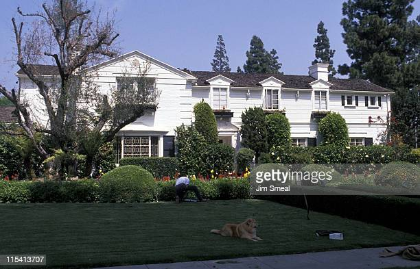 Lucille Ball's House during Lucille Ball's House April 19 1989 in Beverly Hills California United States