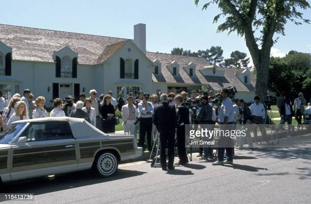 Lucille Ball's House during Lucille Ball's House April 26 1989 in Beverly Hills California United States