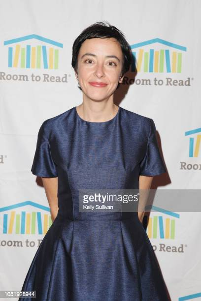 Lucina Di Meco attends Room To Read 2018 International Day Of The Girl Benefit at One Kearny Club on October 11 2018 in San Francisco California
