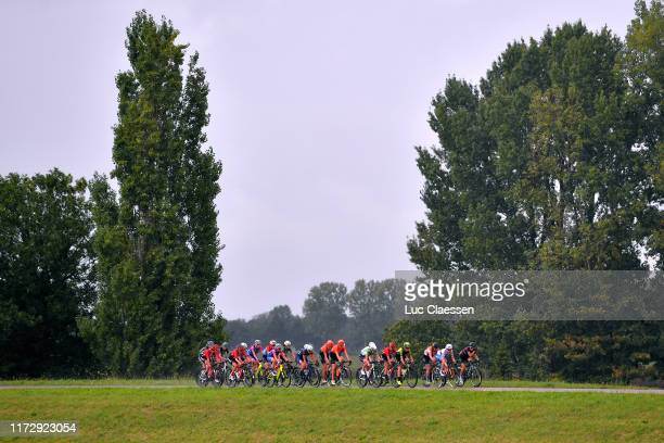 Lucinda Brand of The Netherlands and Team Sunweb / Franziska Koch of Germany and Team Sunweb / Ashleigh Moolman - Pasio of South Africa and Team CCC...
