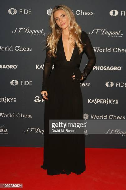 Lucinda Edwards attends the FIDE World Chess Championship 2018 Gala Opening 2018 at The VA on November 8 2018 in London England
