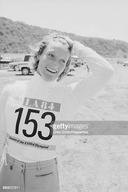Lucinda Green of the Great Britain equestrian team pictured during competition in the Three Day Team Eventing competition at Fairbanks Ranch during...