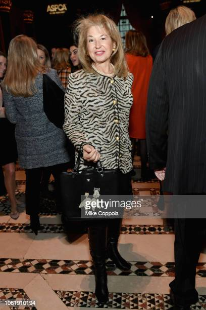 Lucinda Herrick attends the ASPCA Hosts 2018 Humane Awards Luncheon at Cipriani 42nd Street on November 15 2018 in New York City