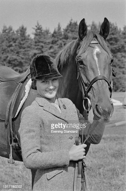 Lucinda Prior-Palmer, later Lucinda Green, a member of the British equestrian team, UK, 18th October 1973.