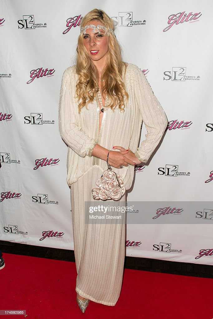 Lucinda Ruh attends Johnny Weir & Victor Weir-Voronov's Birthday Celebration at Soho Grand Hotel on July 27, 2013 in New York City.