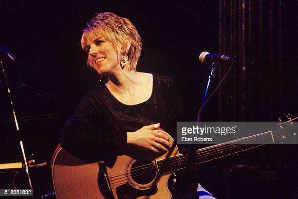 Lucinda Williams performing at a Songwriters Workshop at the Bottom Line in New York City on January 20 1994