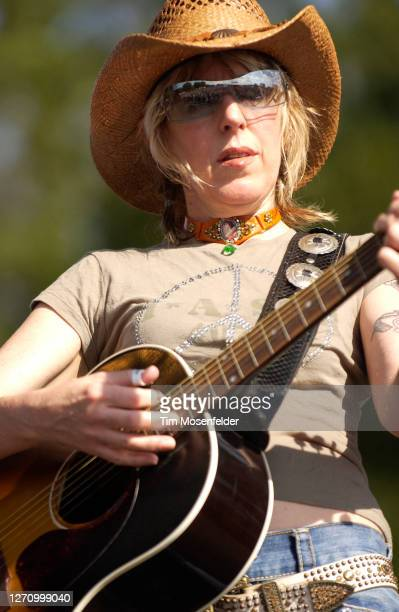 Lucinda Williams performs during day one of the Austin City Limits Music Festival at Zilker Park on September 23, 2005 in Austin, Texas.