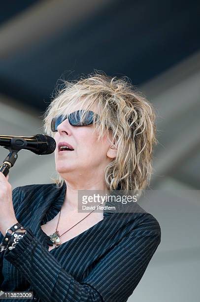 Lucinda Williams performs on stage during the fourth day of New Orleans Jazz And Heritage Festival on May 5 2011 in New Orleans United States