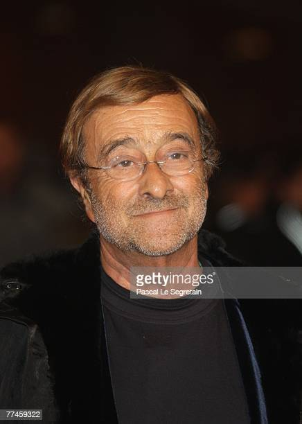 Lucio Dalla attends the premiere for Un Principe Chiamato Toto during day 6 of the 2nd Rome Film Festival on October 23 2007 in Rome Italy
