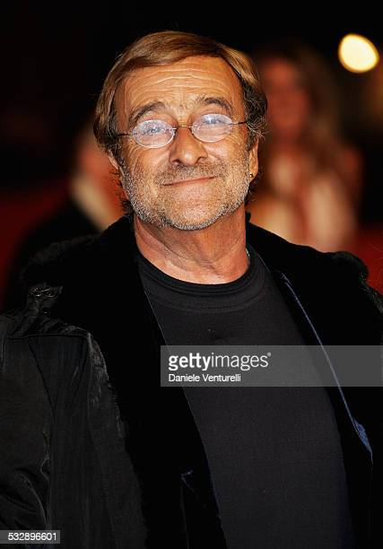 Lucio Dalla attends the 'Un Principe Chiamato Toto' premiere during Day 6 of the 2nd Rome Film Festival on October 23 2007 in Rome Italy