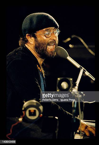 Lucio Dalla performs on September1 in Bologna Italy