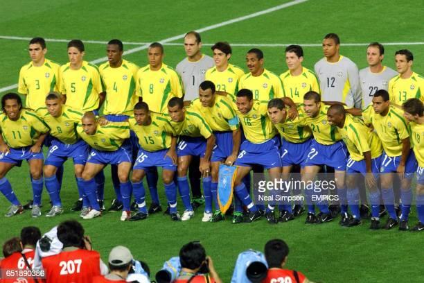 Lucio, Edmilson, Roque Junior, Gilberto Silva, Marcos, Kaka, Vampeta, Anderson Polga, Dida, Rogerio Ceni, Belletti. Ronadlnho, Ronaldo, Roberto...