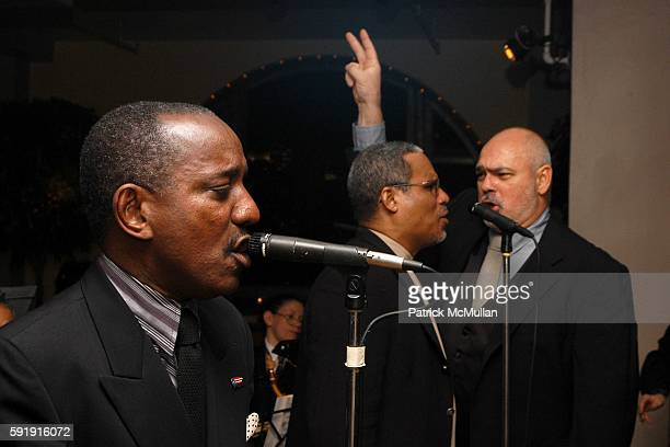 Lucito Ayala Louis Bauzo and Rod Rojas attend Fundación Amistad presents IMAGES OF CUBA Dancing at Tropicana A Night in Old Havana at Manhattan...