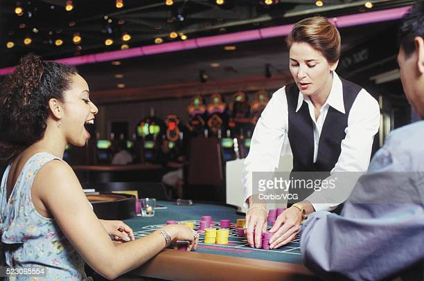Luck at the roulette table