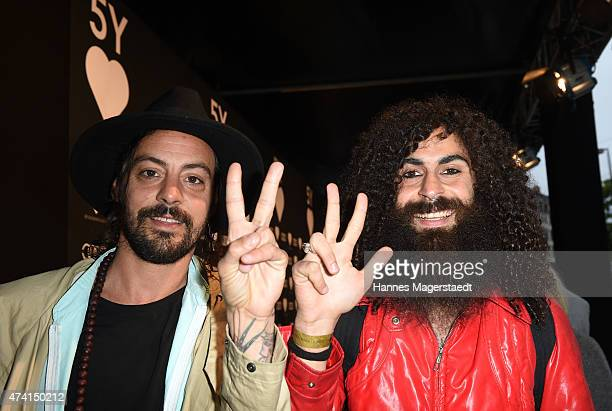 Luckovsky and Raver Jemish attend the 'Heart Club Celebrates 5th Anniversary' at Heart on May 20 2015 in Munich Germany