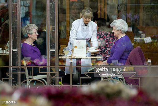 YORK Lucky are the ladies who lunch at Bettys Cafe' Tea Room in York England on April 12 2011 The chain started back in 1919 and is a popular mustdo...
