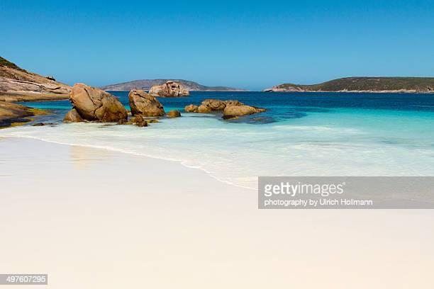 lucky bay, cape le grand national park in western - austrália ocidental - fotografias e filmes do acervo