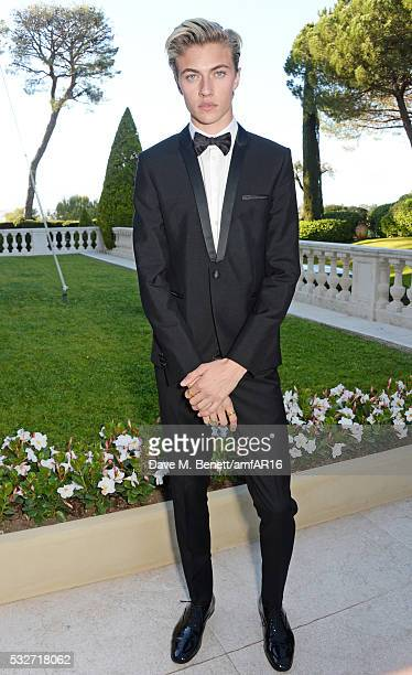 Lucky Blue Smith attends amfAR's 23rd Cinema Against AIDS Gala at Hotel du CapEdenRoc on May 19 2016 in Cap d'Antibes France