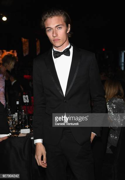 Lucky Blue Smith attends Elton John AIDS Foundation 26th Annual Academy Awards Viewing Party at The City of West Hollywood Park on March 4 2018 in...
