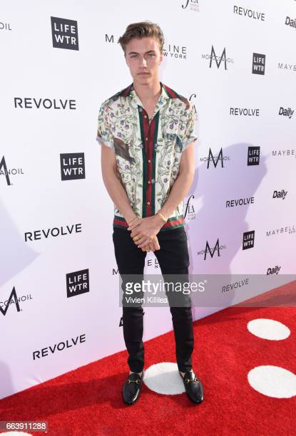 Lucky Blue Smith attends Fashion LA Awards at the Sunset Tower Hotel on April 2 2017 in West Hollywood California