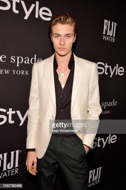 Lucky Blue Smith attends the 2018 InStyle Awards at The Getty Center on October 22 2018 in Los Angeles California