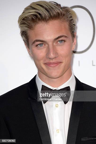Lucky Blue Smith attends the amfAR's 23rd Cinema Against AIDS Gala at Hotel du CapEdenRoc on May 19 2016 in Cap d'Antibes France