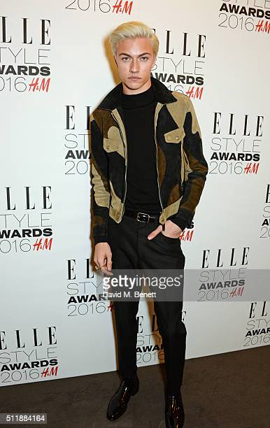 Lucky Blue Smith attends The Elle Style Awards 2016 on February 23 2016 in London England