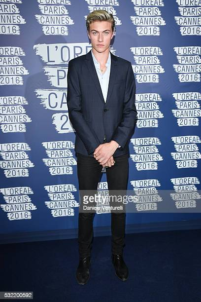 Lucky Blue Smith attends the L'Oreal Party during the annual 69th Cannes Film Festival at on May 18 2016 in Cannes France