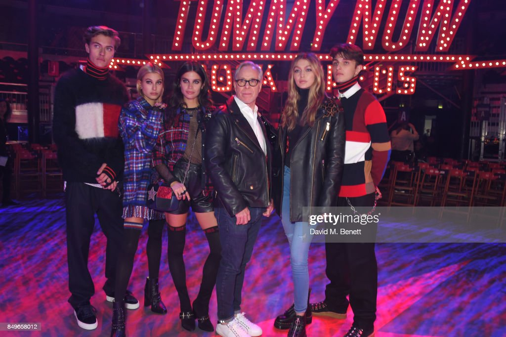 Tommy Hilfiger TOMMYNOW Runway Show - Front Row & Atmosphere : News Photo