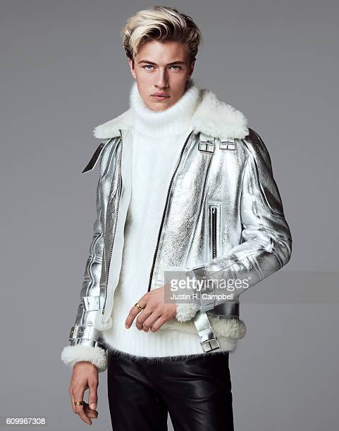 Lucky Blue Smith model and member of The Atomics is photographed for Just Jared on June 20 2016 in Los Angeles California