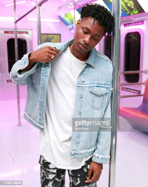 Lucky Daye attends the InstaCarpet during BET at Microsoft Theater on June 22 2019 in Los Angeles California