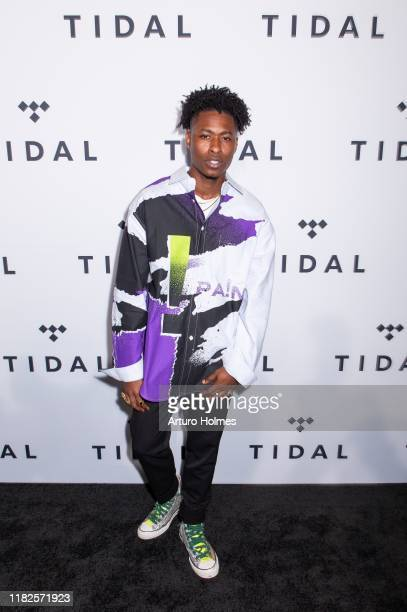 Lucky Daye attends Tidal X The Rock the Vote Benefit Concert at Barclays Center on October 21 2019 in Brooklyn New York
