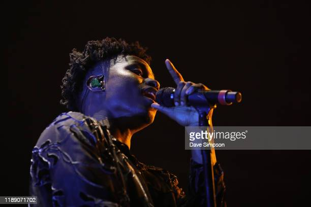 Lucky Daye opens for Khalid at Spark Arena on November 21, 2019 in Auckland, New Zealand.