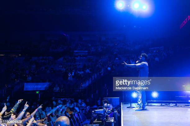 Lucky Daye performs at Rod Laver Arena on November 28 2019 in Melbourne Australia