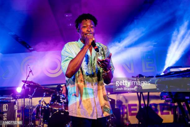 Lucky Daye performs at the 25th Essence Festival at the MercedesBenz Superdome on July 07 2019 in New Orleans Louisiana