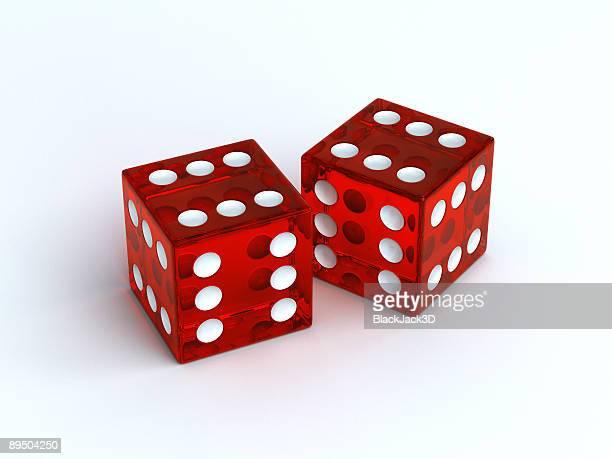 lucky dice - dobbelsteen stockfoto's en -beelden